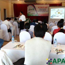(Tiếng Việt) Hội thảo phòng và trị bệnh đường hô hấp trên heo trong mùa mưa – Giải pháp của công ty APA