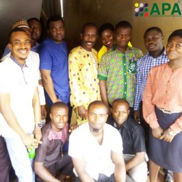 Seminar introducing APA products in Nigeria