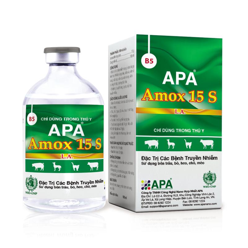 APA Amox 15 S
