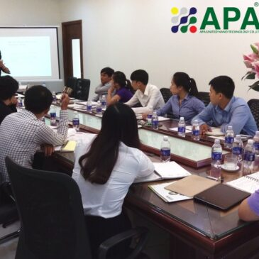 Monthly technical training for APA field force