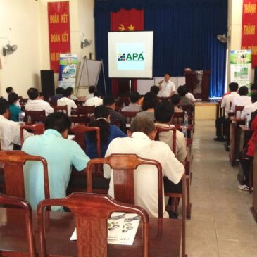 APA held seminar in Binh Phuoc province to introduce APA products – Thailand technology.