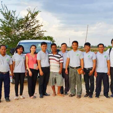 APA – Joining training & experience at fish farms in Cuu Long Delta and Cambodia