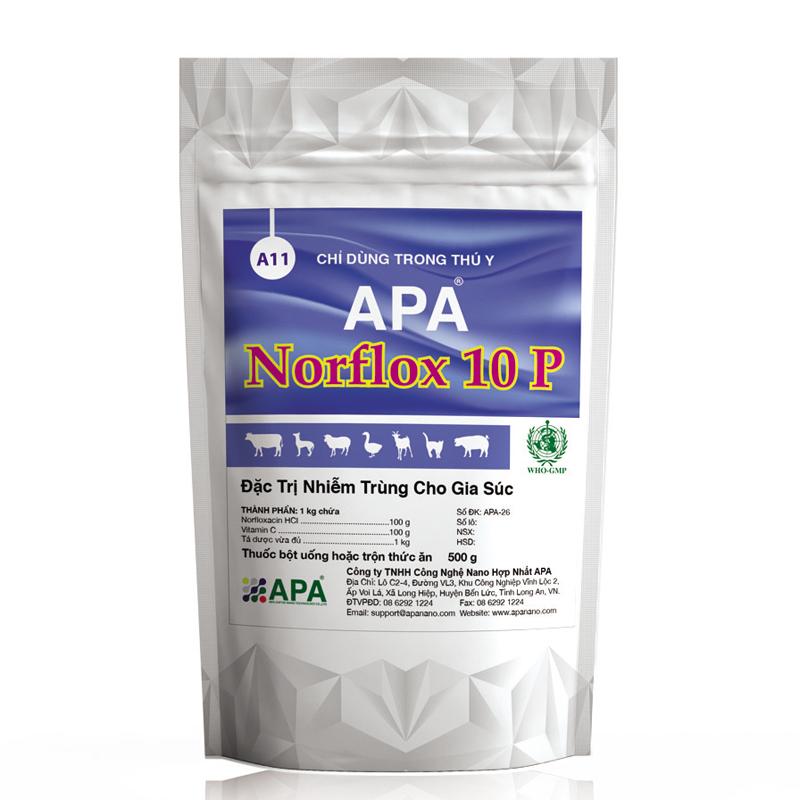 APA NORFLOX 10 P